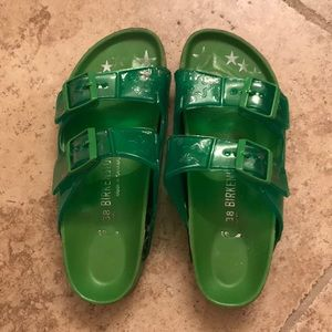 38- Heidi Klum Limited edition Birkenstock green
